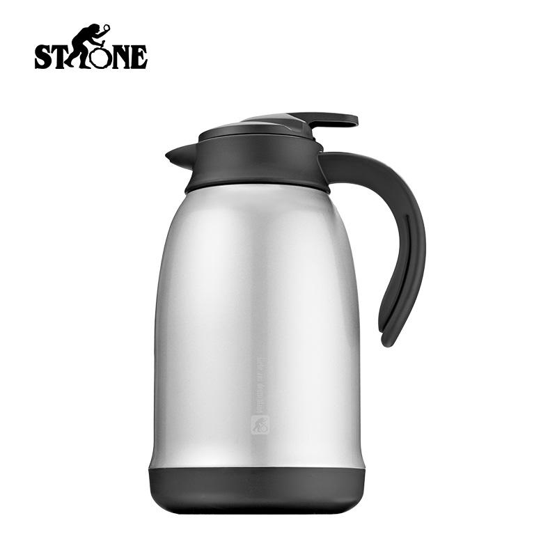 司顿真空保温咖啡壶STY123SG  不锈钢色