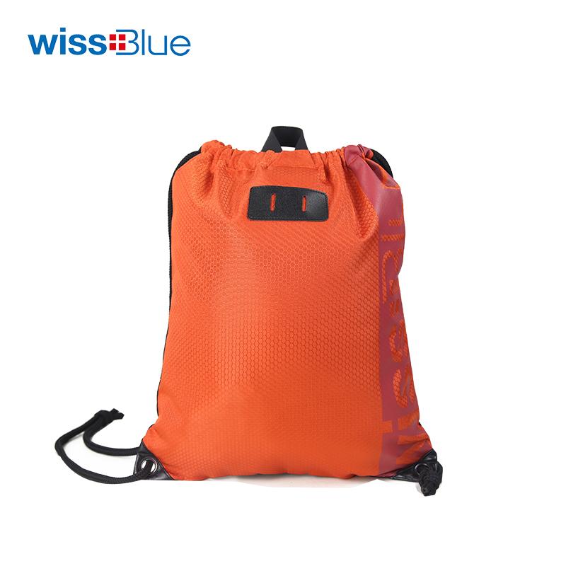 维仕蓝双面抽绳包WBT9610 橙色