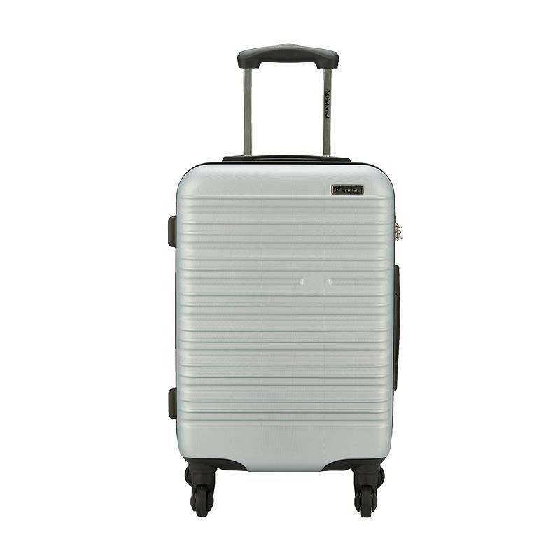 Diplomat外交官商务休闲拉杆箱YH-6162-508 20英寸 银色 银色