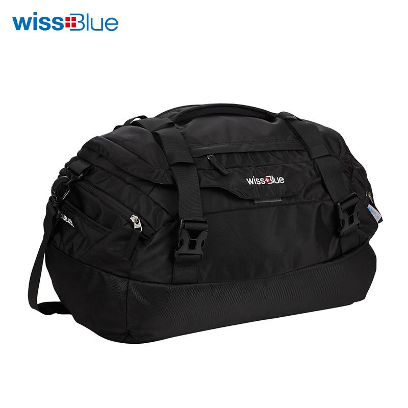 维仕蓝时尚旅行包黑色WB1078 黑色 黑色