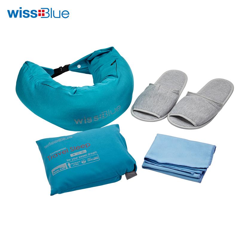 维仕蓝旅行家系列-舒适优选5件套WA8060 天蓝色 天蓝色