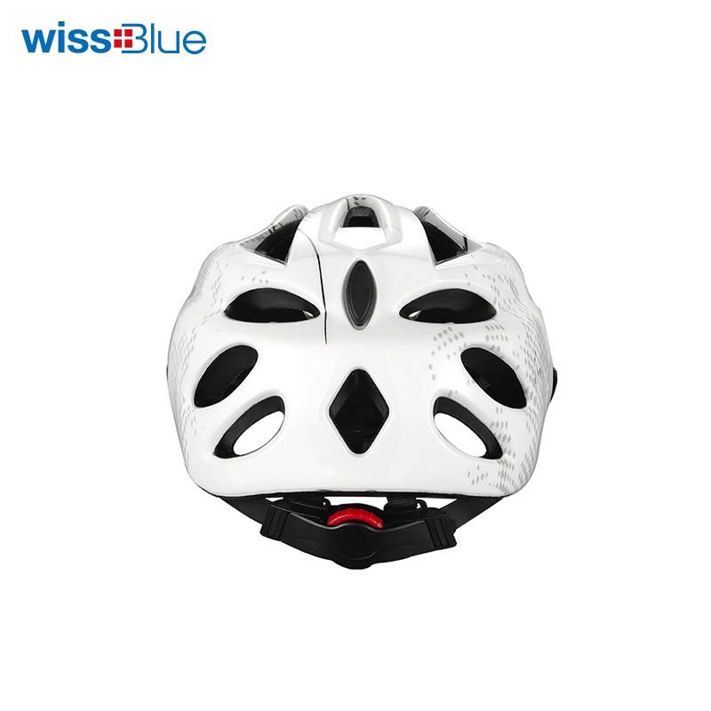 维仕蓝白色头盔WK7026-W 白色 白色
