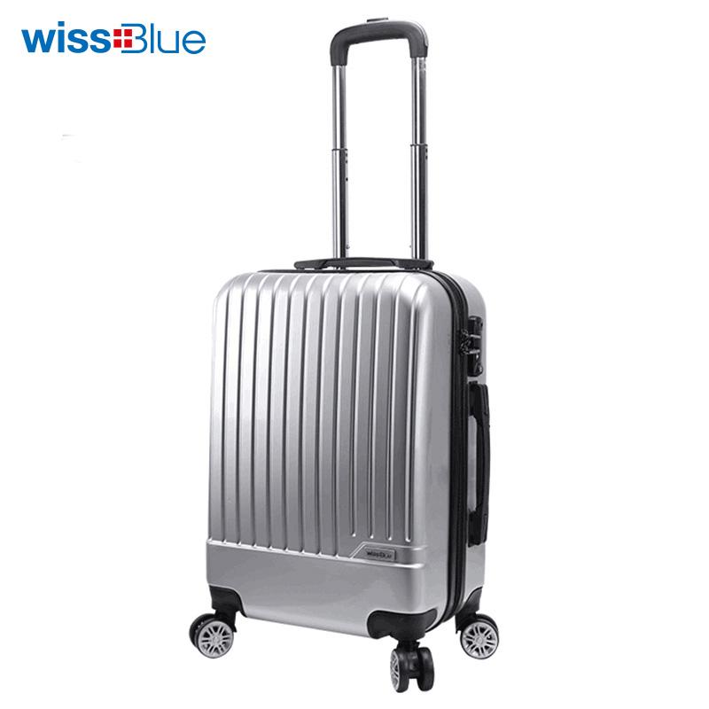 维仕蓝  20寸 时尚旅行拉杆箱 银色【热卖】B717536 银色 银色