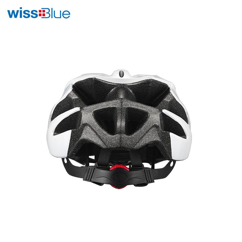 维仕蓝红白色头盔WK7025-R 红色 红色