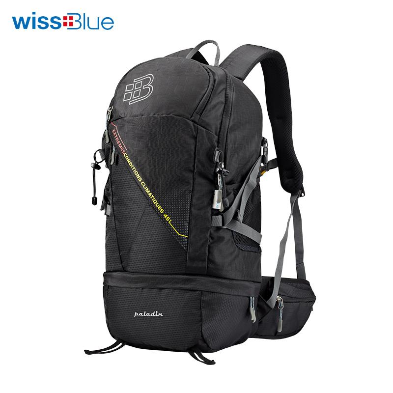 维仕蓝4L户外背包WB1153-BK 黑色 黑色