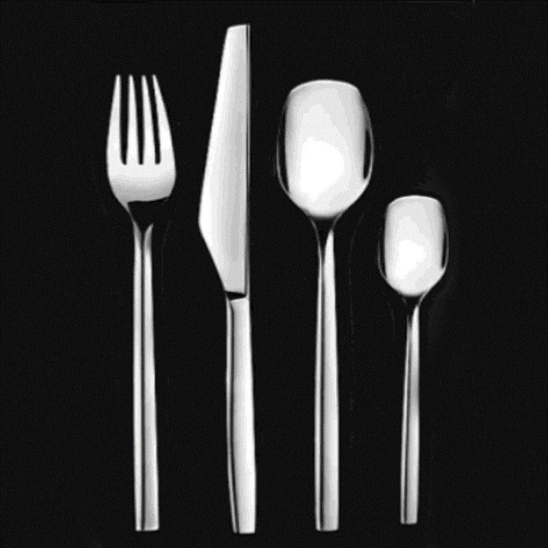 司顿餐具套装系列STF201 银色 银色