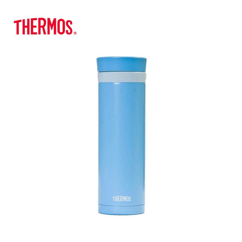 膳魔师(THERMOS)不锈钢时尚保温杯 300mL  蓝色JNC-300BB 蓝色 蓝色