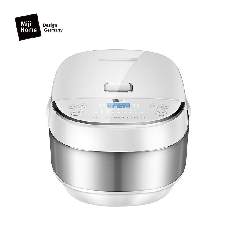 Miji 米技 微电脑多功能电饭煲(球形内胆)ECJ4001 白色 白色