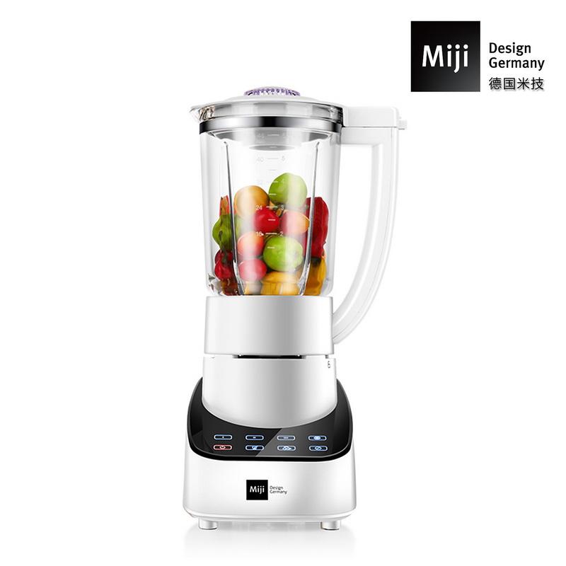 德国Miji 米技微电脑触控果汁机MB-1118 白色 白色