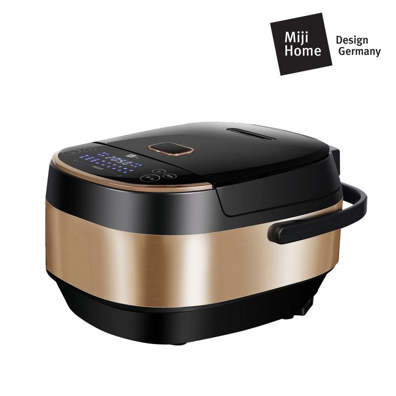 Miji 德国米技微电脑多功能电饭煲(耐热玻璃内胆)ECG3601 黑金色 黑金色