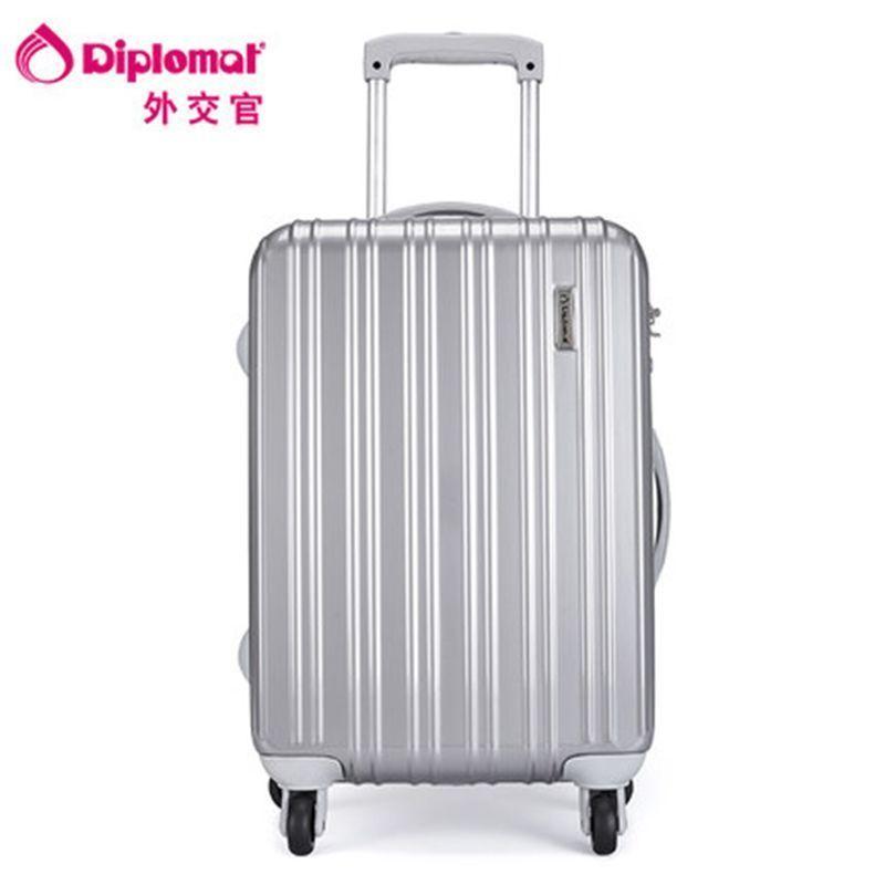 Diplomat外交官拉杆箱TC-5242 19寸 银色 银色