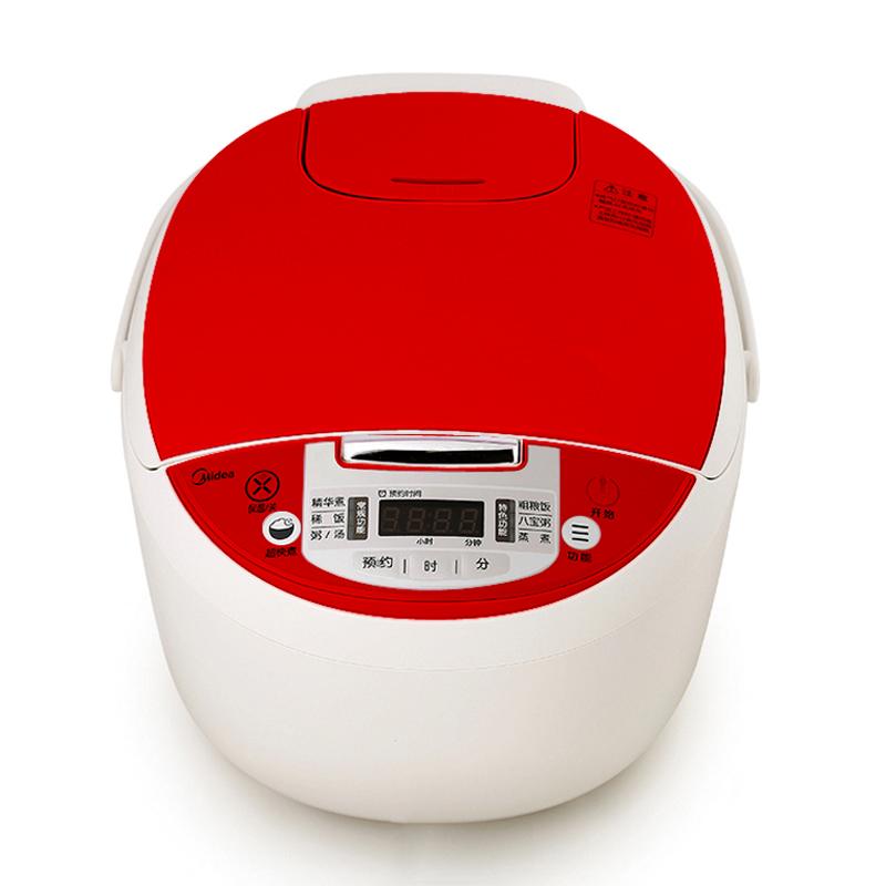 美的电饭煲MB-RF40CJ 红色 红色
