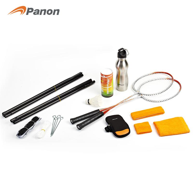 攀能 羽毛球套装 PN-5125  橙色   橙色