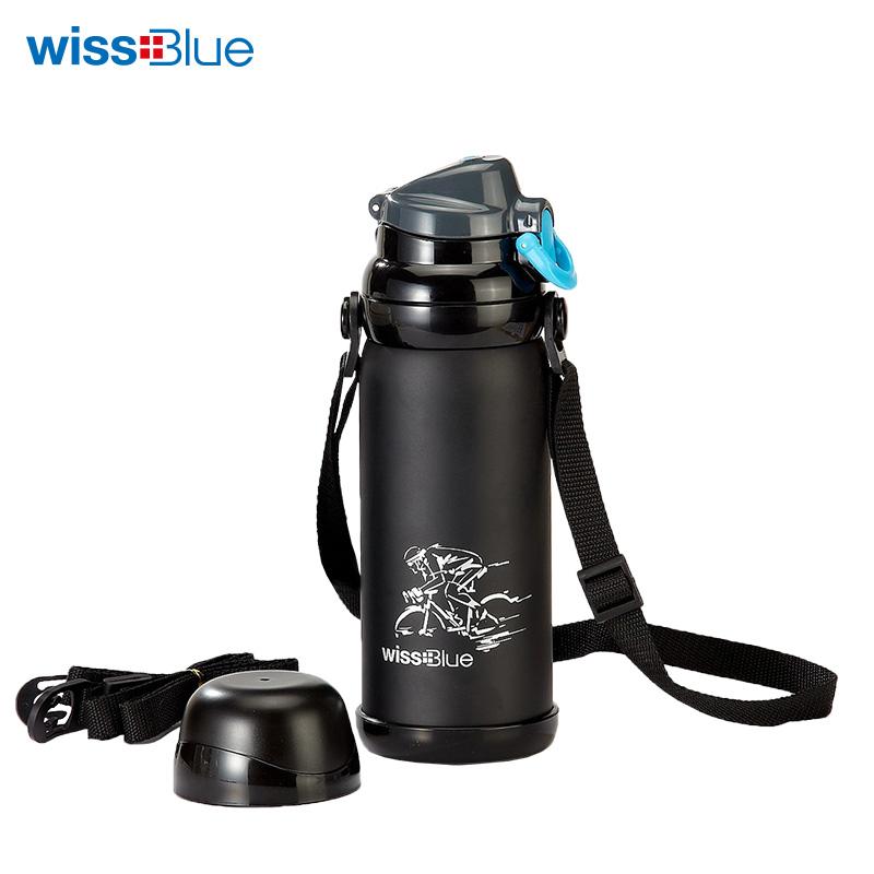 维仕蓝多功能 大容量旅行保温壶WH1022 黑色 黑色