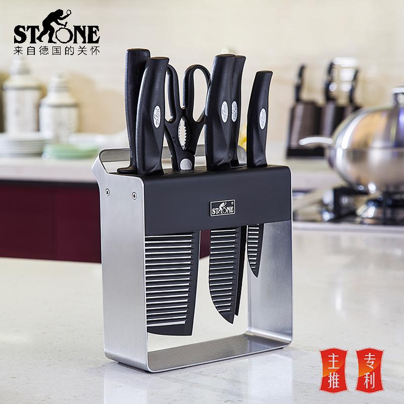 司顿专利刀具六件套组合【热卖】STF036 钢色 钢色