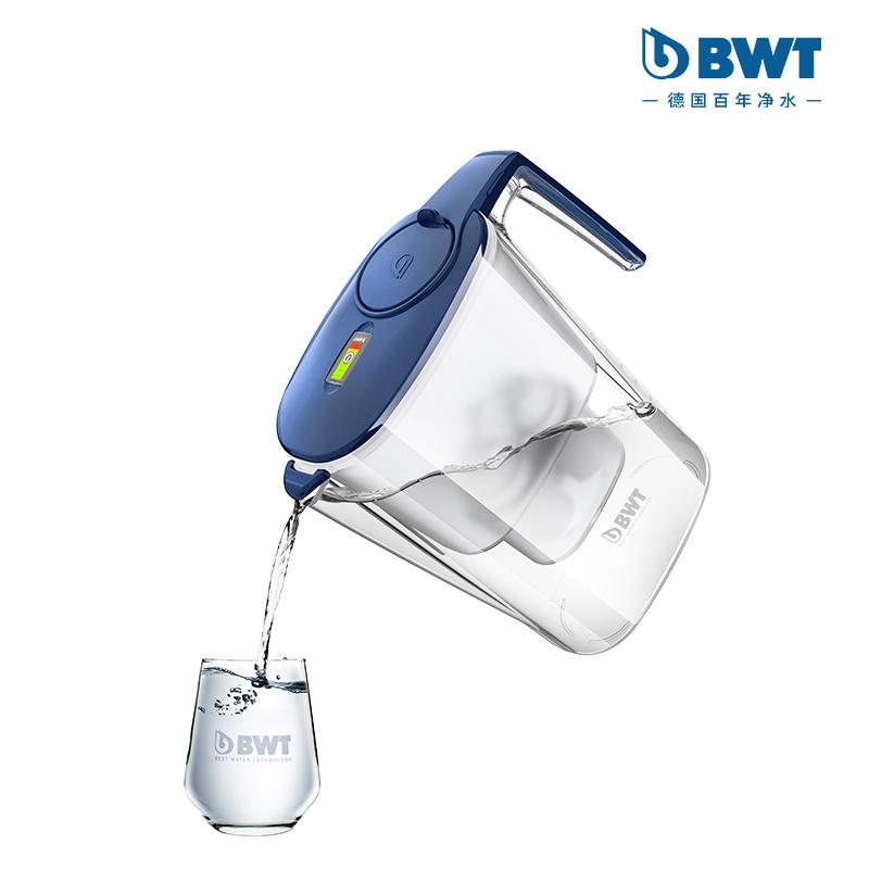 德国倍世(BWT)智镁净水壶3.6L蓝色  蓝色