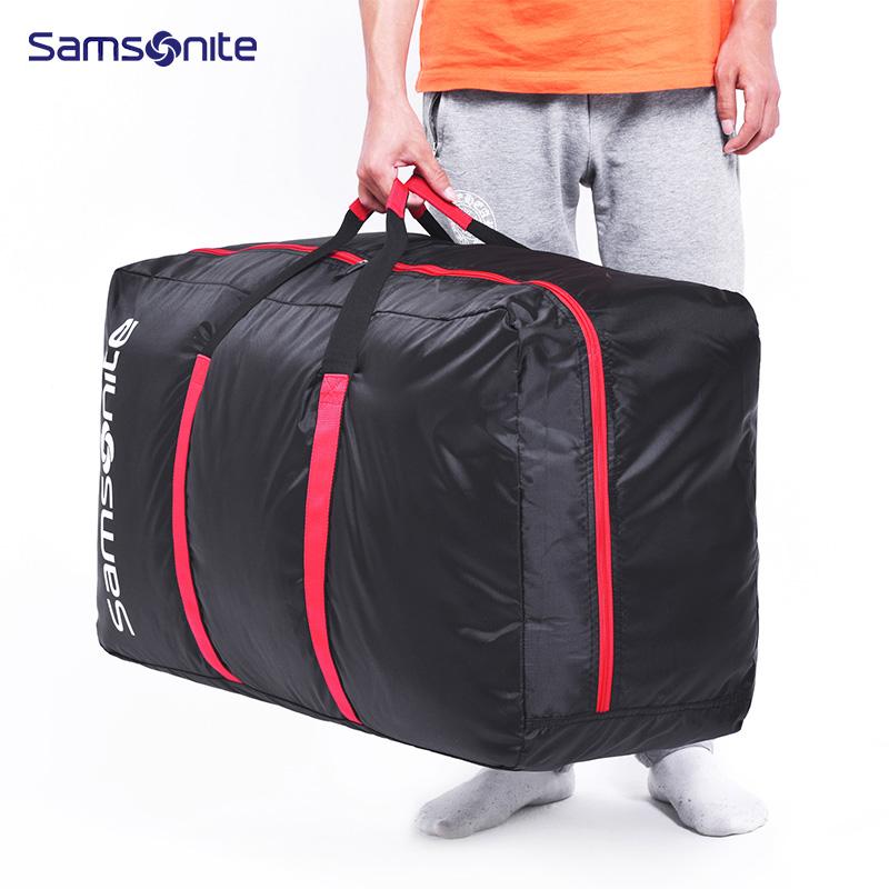 新秀丽可折叠旅行袋  674*39007XL-0072-0001 黑色