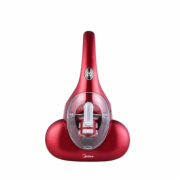 美的 除螨仪手持床上家用吸尘器紫外线杀菌除螨TB-1 红色