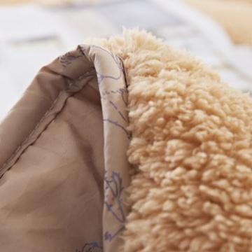 喜芙妮阿拉善驼毛绒床垫XF-D1501