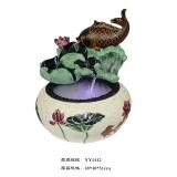 源运流水 YY-1412鱼戏芳池