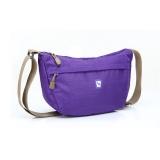 爱华仕 挎包紫色