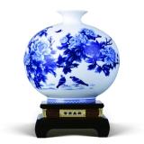 和瓷 富贵呈祥花瓶