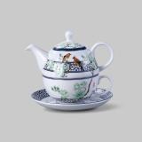 和瓷 玉堂富贵茶具-玉缘