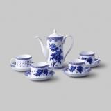 和瓷 富贵祥和茶具(青花)