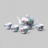 和瓷 玉堂富贵茶具-玉润