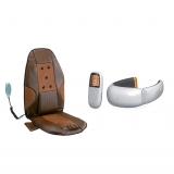 亚摩斯豪华空调按摩坐垫+海尔颈轻松理疗仪