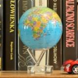 尚艺科技  MOVA Globe光能蓝色行政区图地球仪