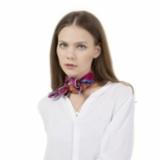 彩色远方  丝巾 (紫)