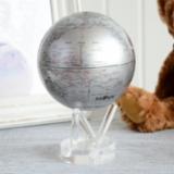 MOVA Globe光能银色自转地球仪