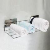 不锈钢三排毛巾架