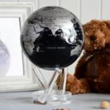 MOVA Globe光能银黑色金属感地球仪