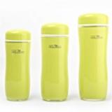 哈乐依可 时尚办公室水杯  玉米杯 绿色 400ml