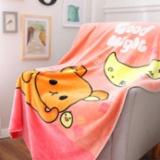 萱洁家纺儿童毯轻松熊