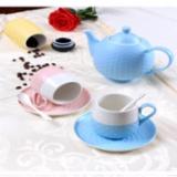 D1053 优雅圆点茶具套装