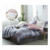 ZL-HNDB磨絨印花四件套 清淺時光+清漫零壓記憶枕1個家紡組合