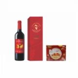 ZL-中糧時怡優選每日水果燕麥片210g +中糧·雷沃莊園干紅葡萄酒750ml單支